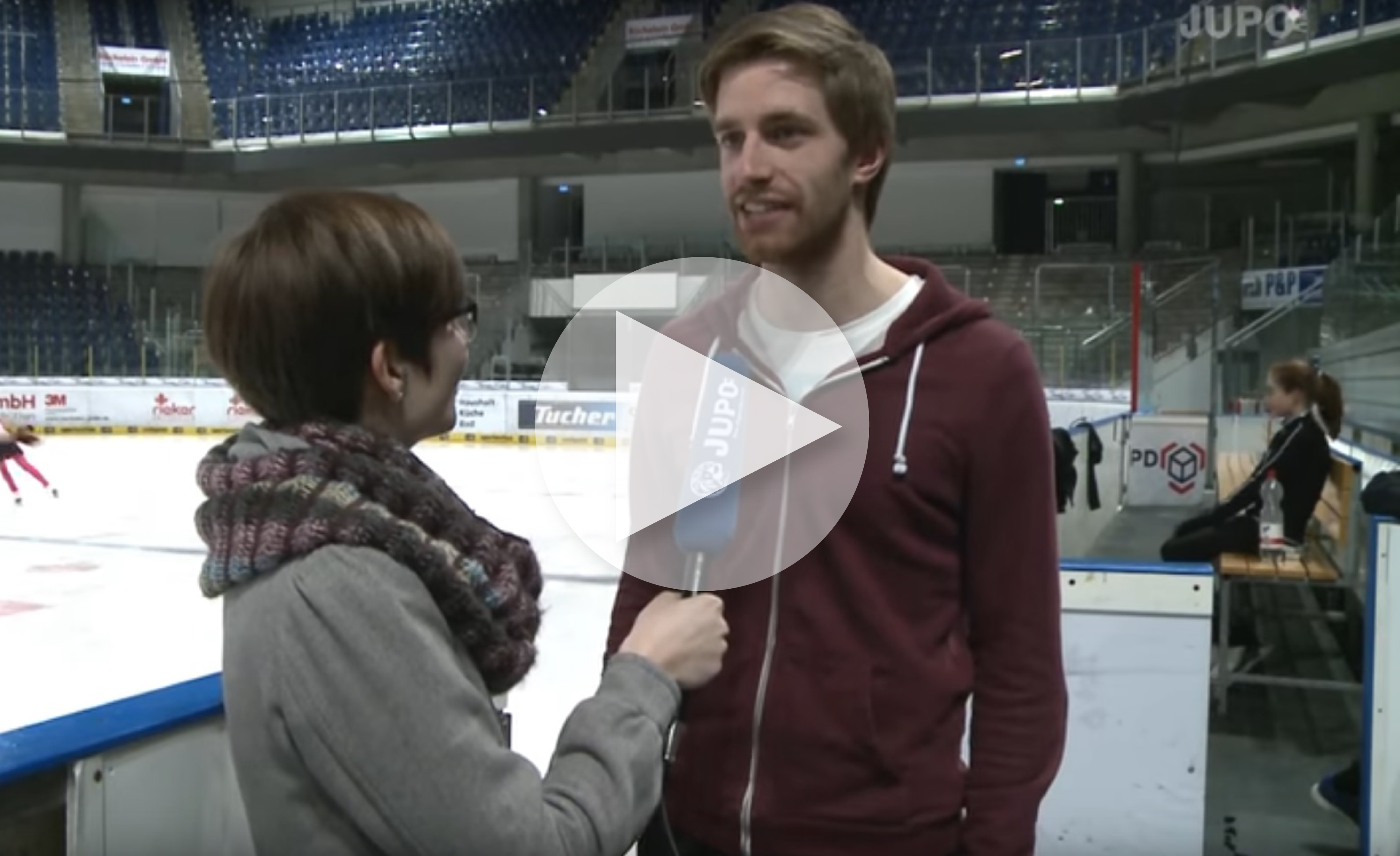 """Eiskunstlaufen und Olympia Sotchi"" JuPo TV - Jugendportal Bayern"